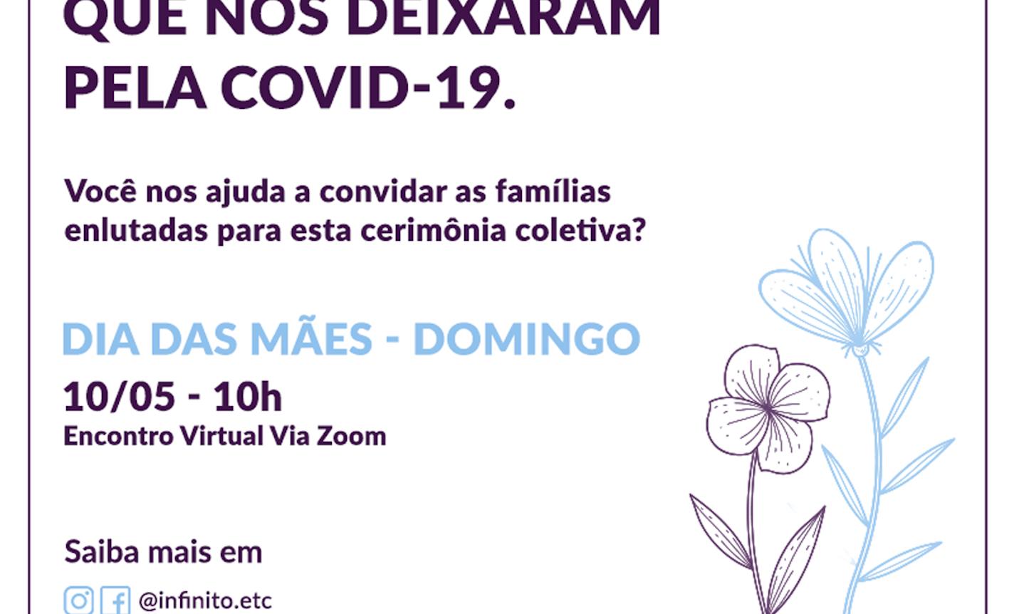 Homenagem as mães que nos deixaram pelo COVID