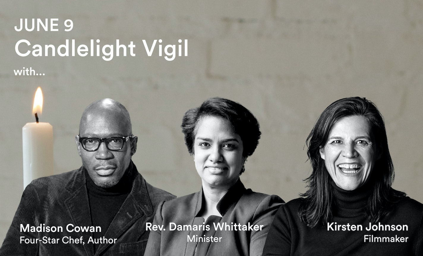 Reimagine Candlelight Vigil with Chef Madison Cowan & Guests