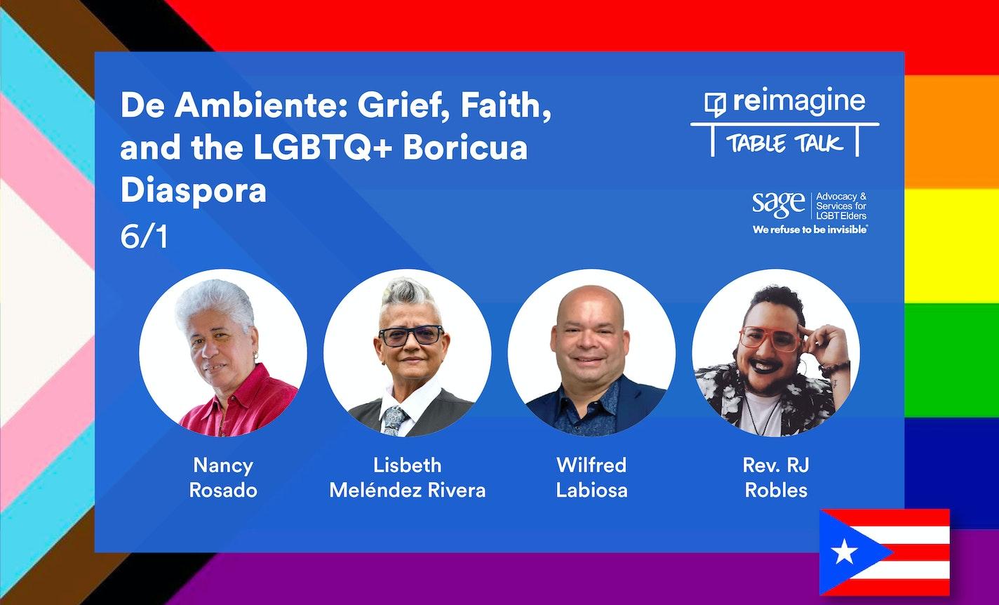 De Ambiente: Grief, Faith, and the LGBTQ+ Boricua Diaspora