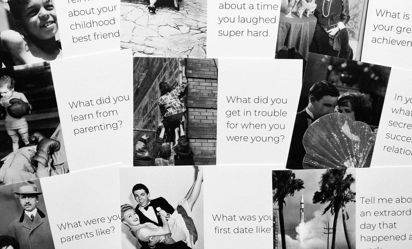 Create a Memory Book with Photos and Life Stories
