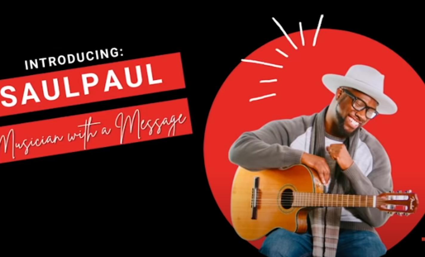 """TEDTALKS: SaulPaul """"Be the Change"""""""
