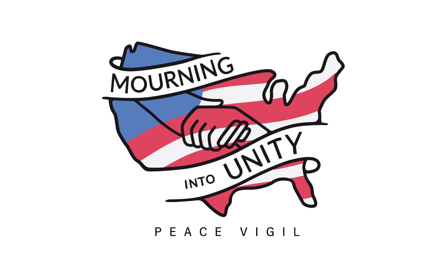 Mourning Into Unity Peace Vigil - Atlanta, Georgia