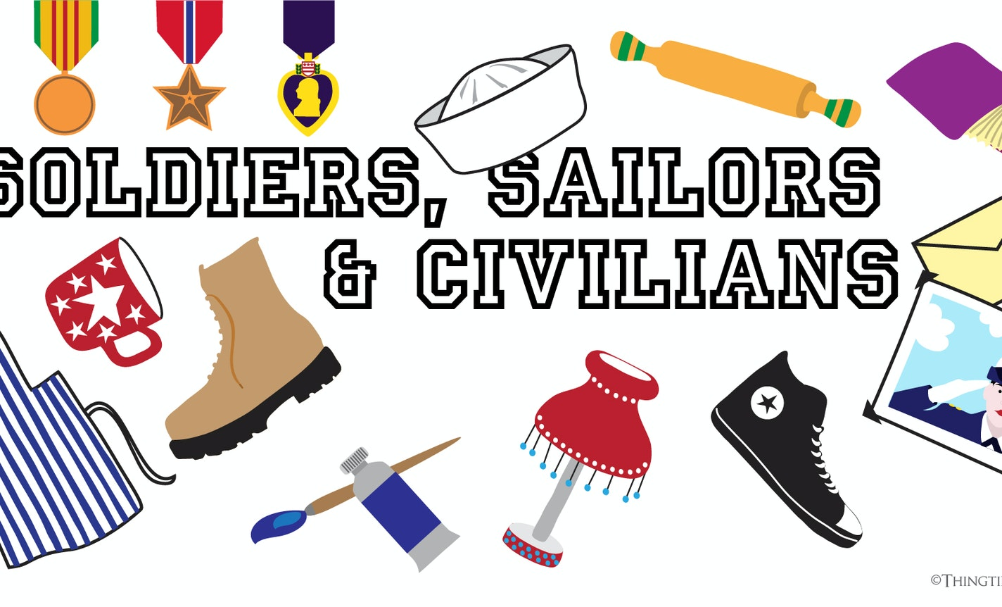 Show & Tale: Soldiers, Sailors & Civilians