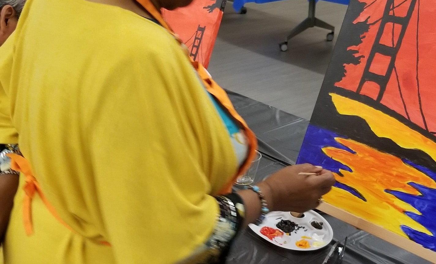 Zoom, Sip, and Paint: An All-Ages Halloween for the Ages