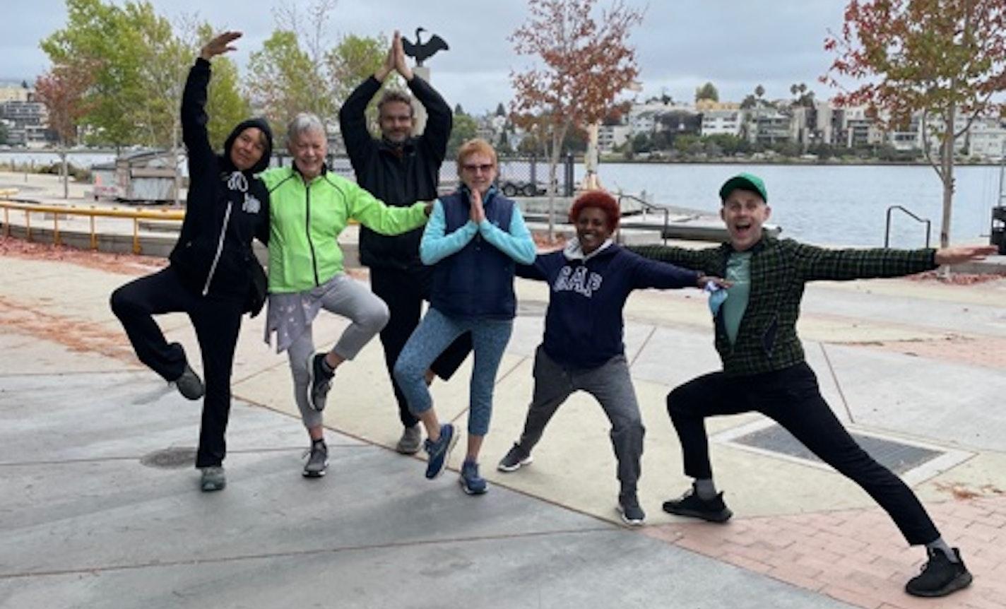 Gaia-love Yoga @ Lake Merritt in Oakland, CA