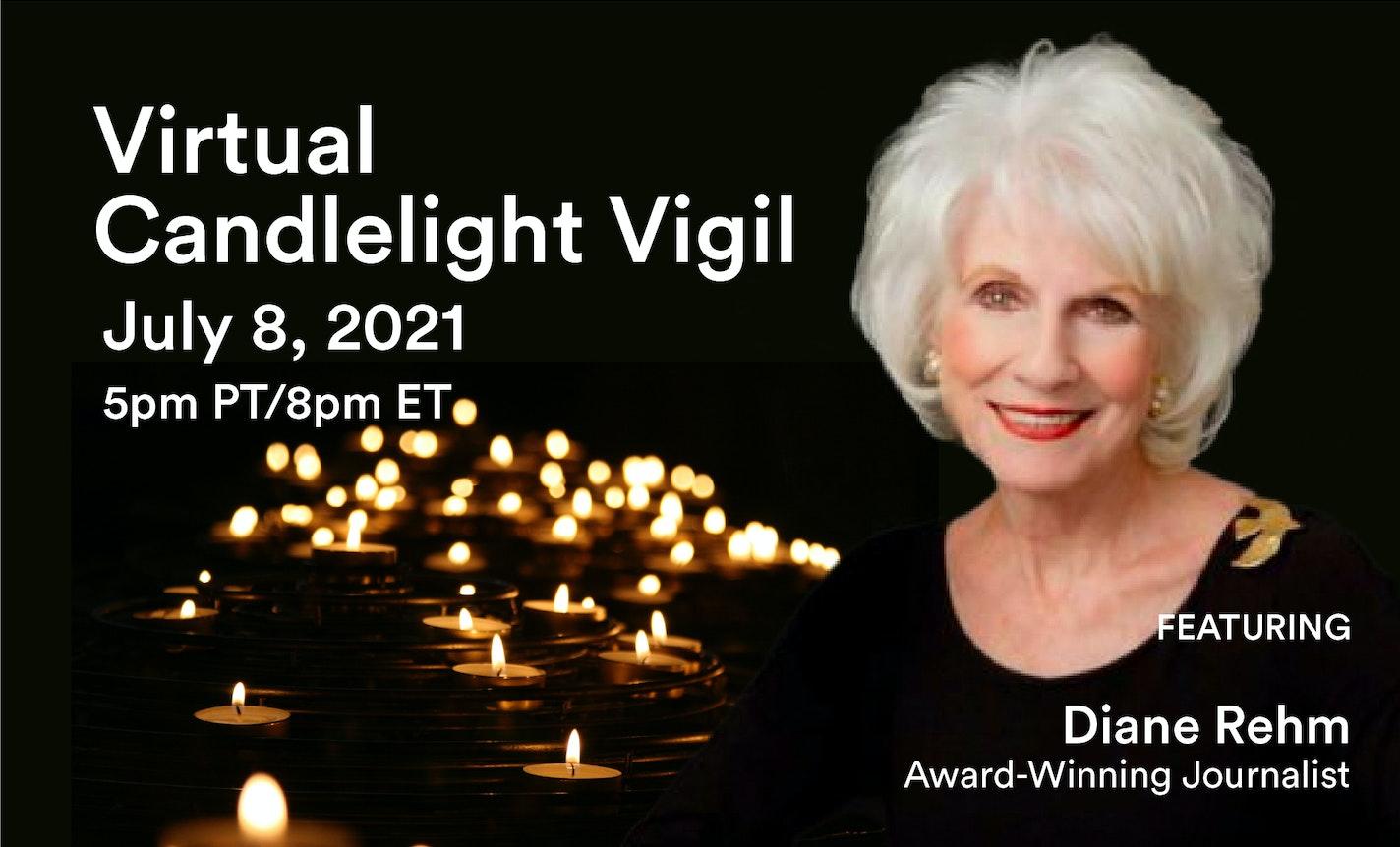 Reimagine Candlelight Vigil with Radio Host Diane Rehm