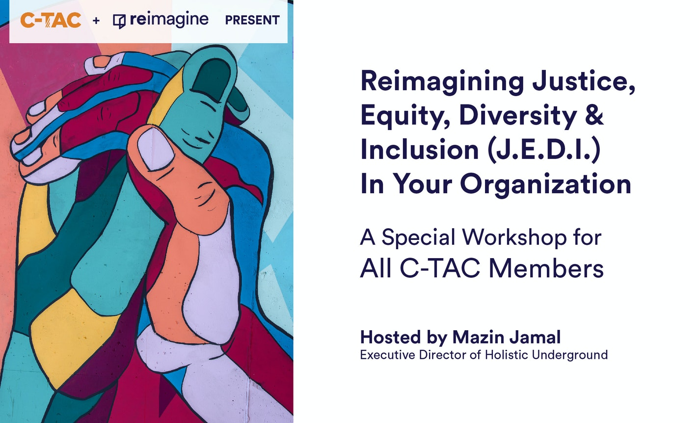 Reimagining Justice, Equity, Diversity & Inclusion