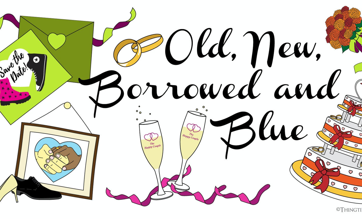 Show & Tale: Old, New, Borrowed & Blue (and?)