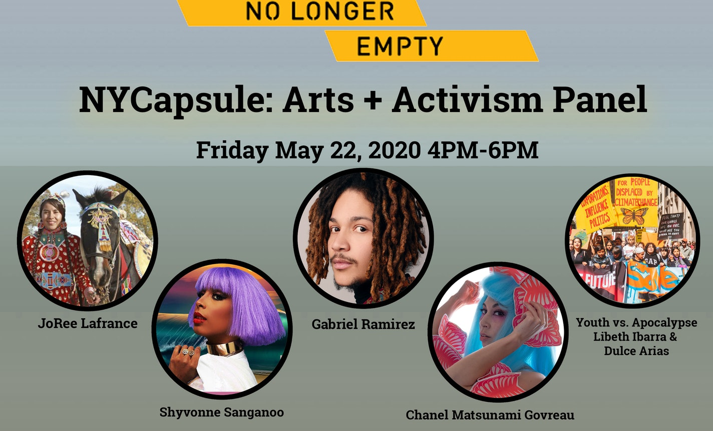 NLE NYCapsule: Arts Activism Panel For Youth