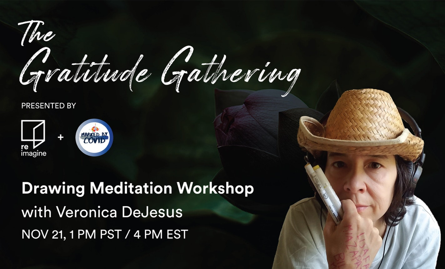 The Gratitude Gathering: Drawing Meditation Workshop