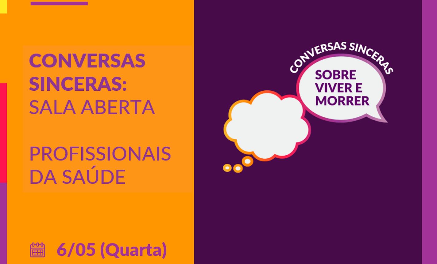 Sarau inFINITO | Conversas Sinceras - content in portuguese