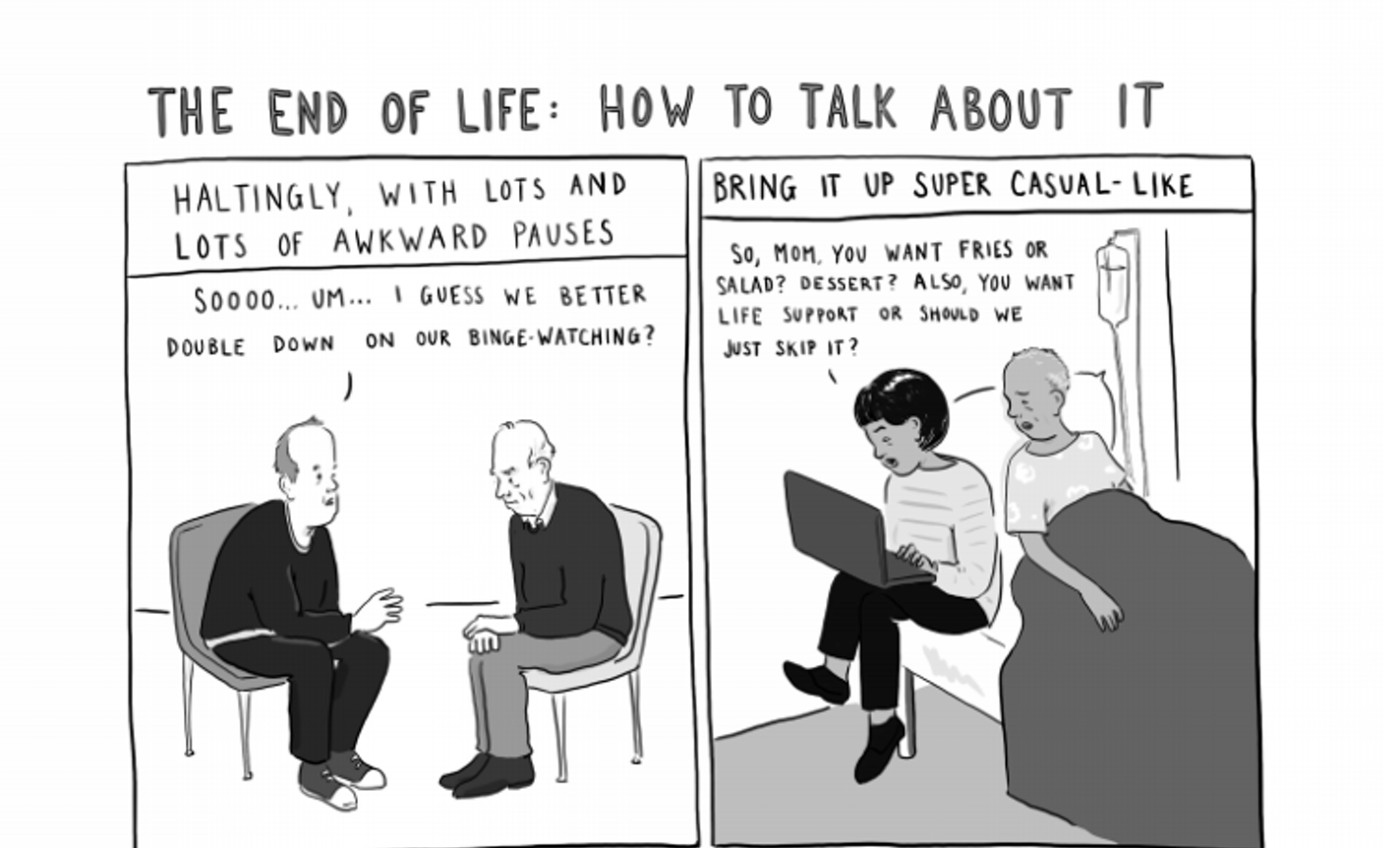 Comics That Help Us Face The End of Life