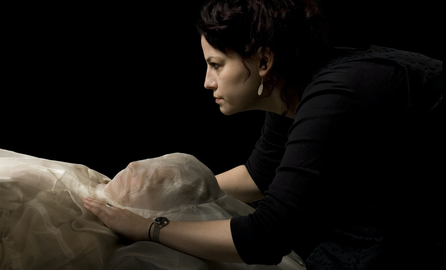 Virtual Studio Visit: Pia Interlandi [Re]Dressing Death