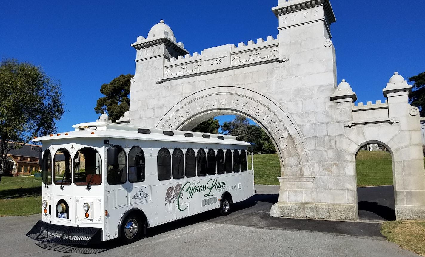 Cypress Lawn Trolley Tour