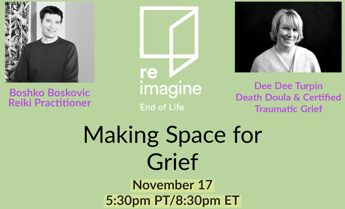 Making Space for Grief: Sorrow, Growth, Action and HOPE
