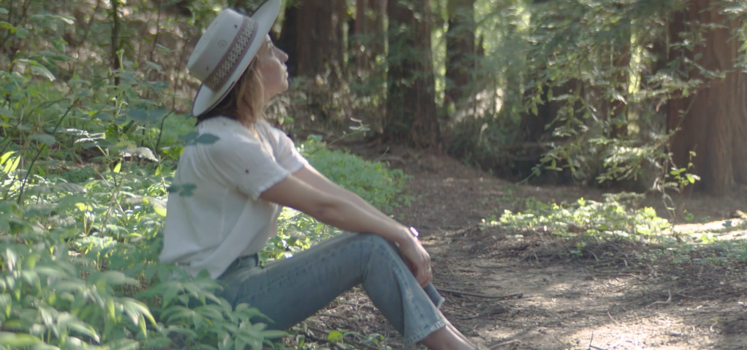 Julia Plevin from The Forest Bathing Club