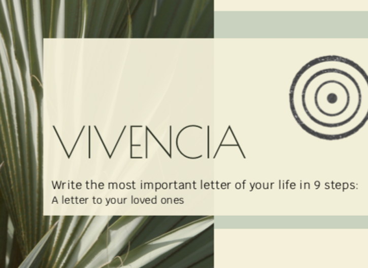 Life Letter Template: Writing to loved ones