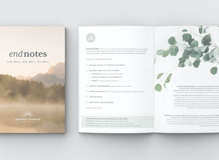 endnotes: holistic end of life planning workbook