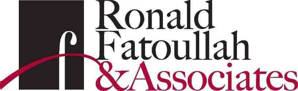 Ronald Fatoullah and Associates text in black and red